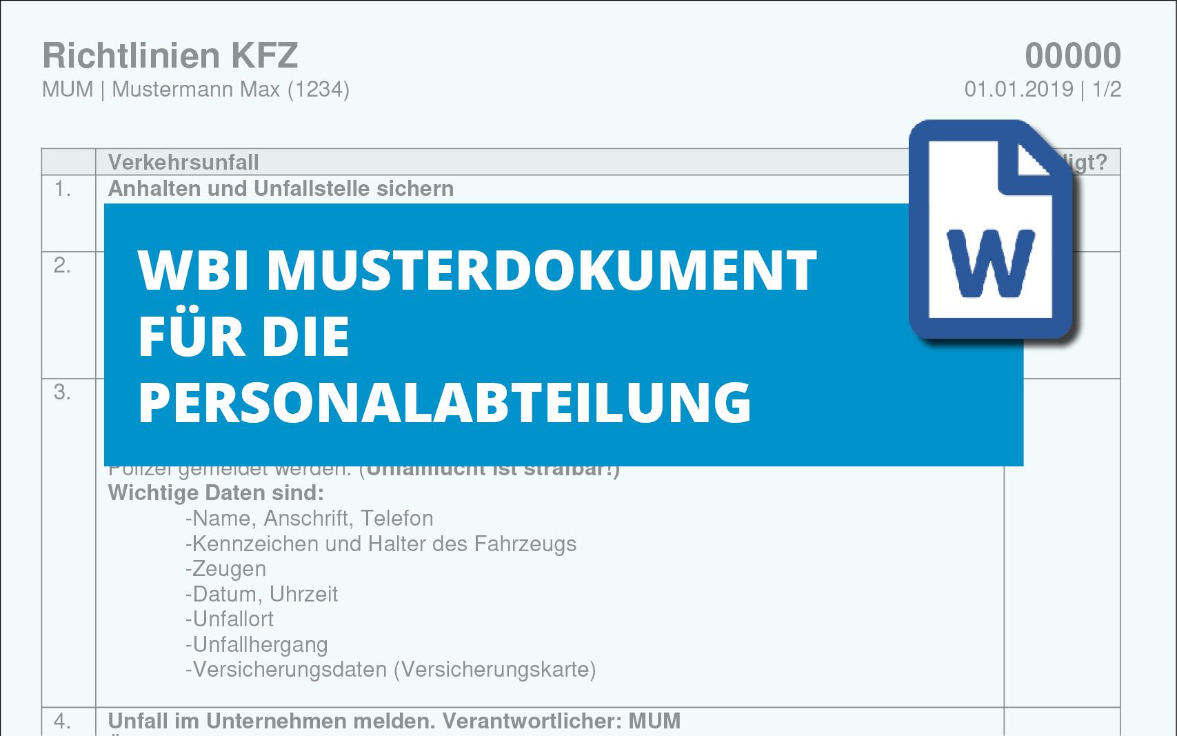 richtlinien-kfz