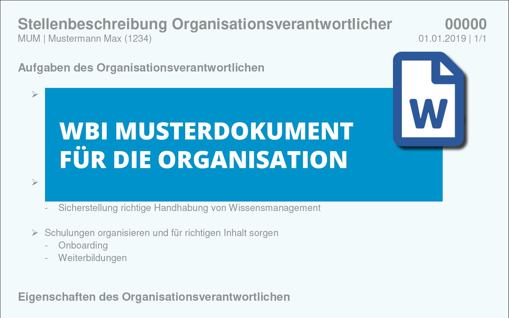 stellenbeschreibung-organisationsverantwortlicher