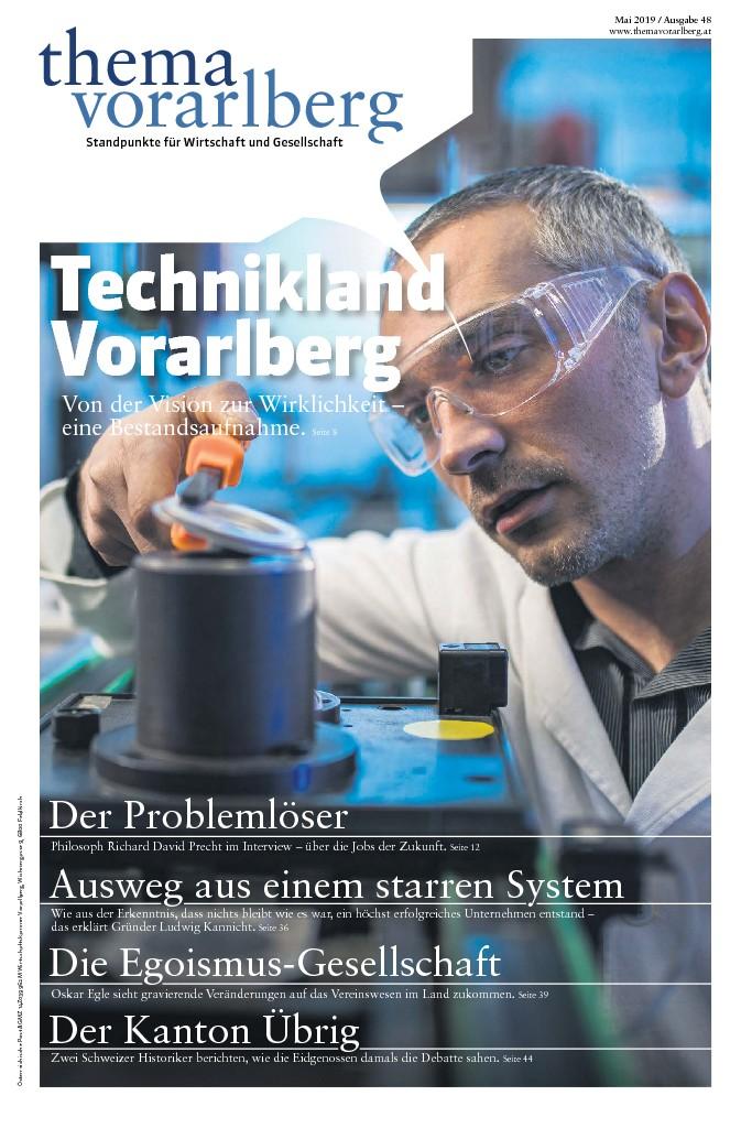 Titelseite Thema Vorarlberg