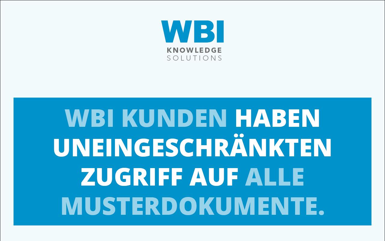 WBI-Top-5-Musterdokumente