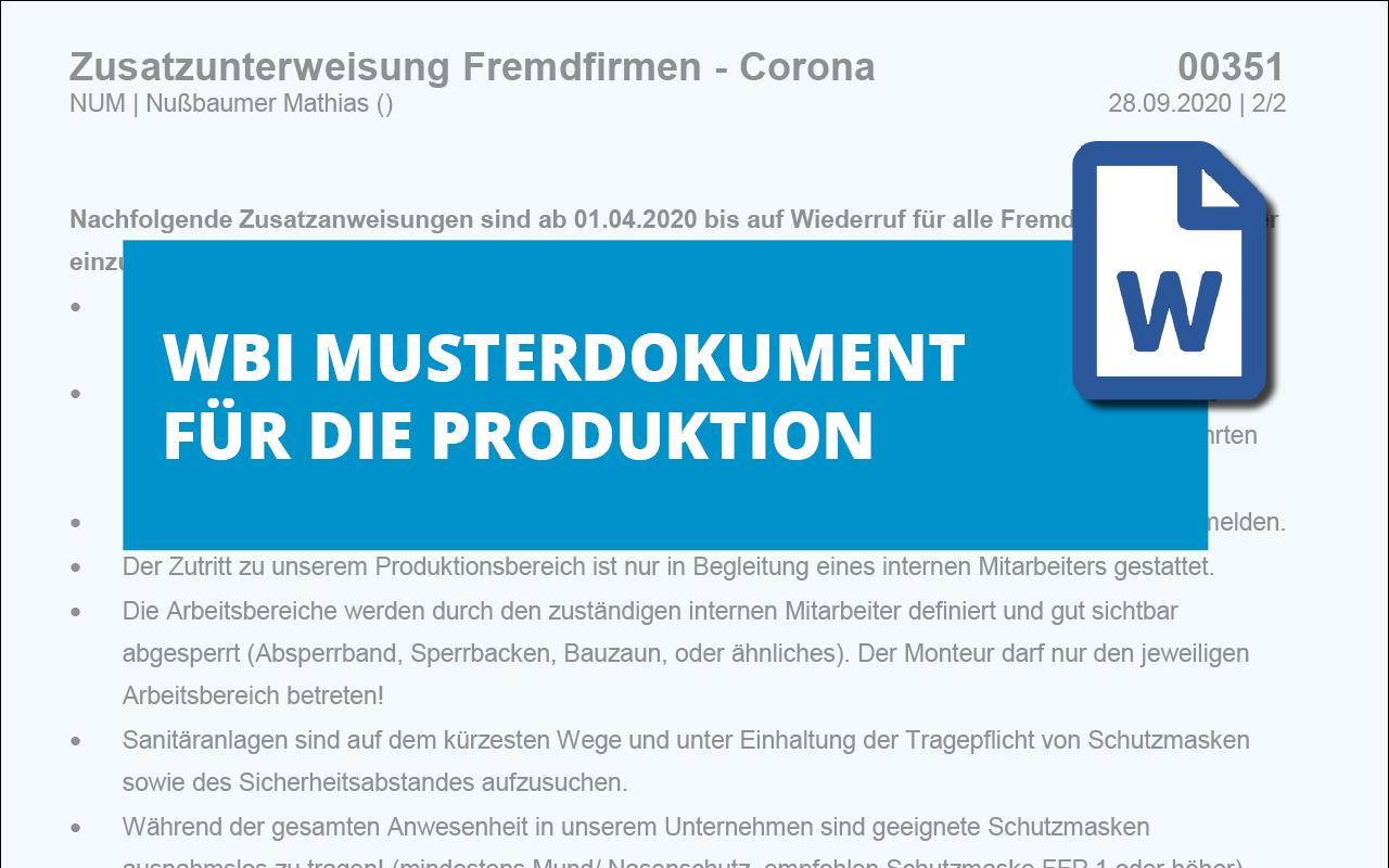 WBI-Zusatzunterweisung-Fremdfirmen-Corona-md