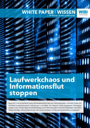 WBI White Paper: Wie ist Ordnung im Wissenssystem denkbar